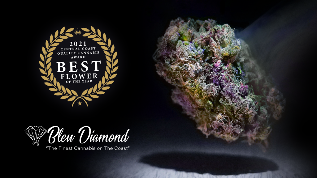 Award winning Flower available at Bleu Diamond Cannabis Delivery